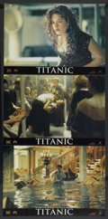 "Movie Posters:Academy Award Winner, Titanic (20th Century Fox, 1997). Italian Photobusta Set of 6(17.5"" X 25""). Academy Award Winner.... (Total: 6 Items)"