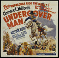 "Movie Posters:Western, Undercover Man (Paramount, 1942). Six Sheet (81"" X 81""). Western...."