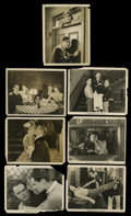 "Movie Posters:Comedy, The Actress Lot (MGM, 1928). Stills (7) (8"" X 10""). Comedy....(Total: 7 Items)"