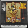 "Movie Posters:Action, Enter the Dragon (Warner Brothers, 1973). Six Sheet (76.5"" X 78"").Action...."