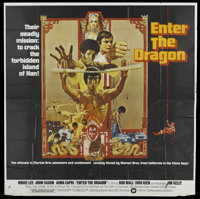 "Enter the Dragon (Warner Brothers, 1973). Six Sheet (76.5"" X 78""). Action"