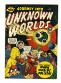 Golden Age (1938-1955):Science Fiction, Journey Into Unknown Worlds #37 (#2) (Atlas, 1950) Condition:FN....
