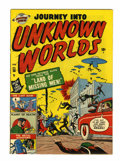 Golden Age (1938-1955):Horror, Journey Into Unknown Worlds #38 (#3) (Atlas, 1951) Condition:FN....