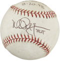 Autographs:Baseballs, Mark McGwire Single Signed 50-50-50 Game-Used Baseball. On August 20, 1998, Mark McGwire hit his 50th home run for the sea...