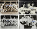 """Autographs:Photos, Signed Boston Red Sox Photographs, including Ted Williams, Lot of33. Thirty-three 8x10"""" photos signed by former members of..."""