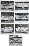 Autographs:Photos, Brooklyn Dodgers and New Giants Team Photos Single and Multi-SignedLot of 14. We offer a group of official team photos for...