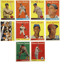 1958 Topps Baseball Near Complete Set (480/494), Signed by 309. Near complete set (480/494) from the hobby-fave 1958 Top...