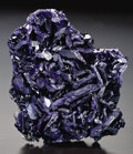 Minerals:Cabinet Specimens, AZURITE - THE 'EASTER EGG POCKET'. ...