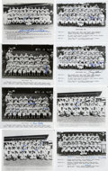 "Autographs:Photos, 1940s-70s Assorted Signed Team Photographs. Collection of 17 team8x10"" photographs is presented here, all coming from vario..."