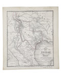 Miscellaneous:Maps, Ensign Map of Texas and Part of Mexico, 1846. ...
