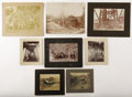 Western Expansion:Goldrush, Lot of Eight Mining Related Photographs ca 1890s.... (Total: 8Items)
