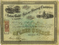 Miscellaneous:Ephemera, Stock Certificate, The Astor Gold and Silver Mining Company of Nevada,...