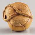 Asian:Japanese, PROPERTY FROM A DALLAS PRIVATE COLLECTION. AN ENGLISH WOOD NETSUKE.20th Century. Marks: signed with Doug Sanders' monogra...