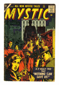 Golden Age (1938-1955):Horror, Mystic #60 (Atlas, 1957) Condition: VG....