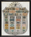 Fractional Currency:Shield, Fractional Currency Shield, With Gray Background. This Shield givesan overall impressive appearance. It does not suffer fro...