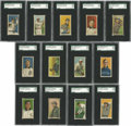 Baseball Cards:Lots, 1909-11 T206 SGC-Graded Group Lot of 13. A baker's dozen of gradedcards from the popular T206 tobacco issue is offered her...