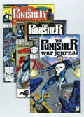 Modern Age (1980-Present):Superhero, Punisher War Journal/War Zone Group (Marvel, 1988-95) Condition: Average NM....