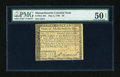 Colonial Notes:Massachusetts, Massachusetts May 5, 1780 $8 PMG About Uncirculated Net 50....