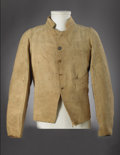 Military & Patriotic:Civil War, Impeccably Provenanced and Authenticated Confederate Civil War Enlisted Man's Jacket. Accompanied by a Period Ink Tag which is...