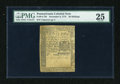 Colonial Notes:Pennsylvania, Pennsylvania December 8, 1775 30s PMG Very Fine 25....