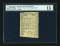 Colonial Notes:Rhode Island, Rhode Island May 1786 2s/6d PMG Choice Fine 15....