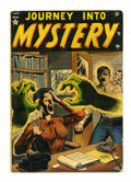 Golden Age (1938-1955):Horror, Journey Into Mystery #1 (Marvel, 1952) Condition: Apparent GD+....