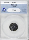Proof Roosevelt Dimes: , 1952 10C PR66 ANACS. NGC Census: (165/355). PCGS Population(533/388). Mintage: 81,980. Numismedia Wsl. Price for NGC/PCGS ...