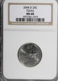 Statehood Quarters, 2004-D 25C Texas MS68 NGC. NGC Census: (0/0). PCGS Population(753/24). Numismedia Wsl. Price for NGC/PCGS coin in MS68: $...