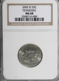 Statehood Quarters, 2002-D 25C Tennessee MS68 NGC. NGC Census: (25/2). PCGS Population (171/0). (#14005)...