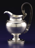 Silver Holloware, Continental:Holloware, AN AUSTRIAN BIEDERMEIER SILVER PITCHER. Unknown maker, Vienna,Austria, 1828. Marks: (A, 1828, 13 within orb), (double heade...