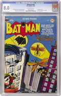 Golden Age (1938-1955):Superhero, Batman #63 (DC, 1951) CGC VF 8.0 Off-white pages....