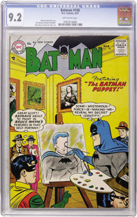 Batman #106 (DC, 1957) CGC NM- 9.2 Off-white pages