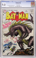 Silver Age (1956-1969):Superhero, Batman #104 (DC, 1956) CGC VF/NM 9.0 Off-white pages....