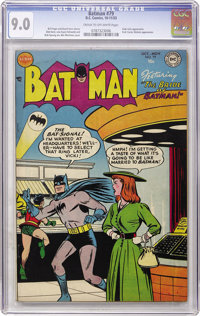 Batman #79 (DC, 1953) CGC VF/NM 9.0 Cream to off-white pages