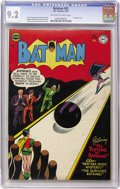 Golden Age (1938-1955):Superhero, Batman #83 (DC, 1954) CGC NM- 9.2 Off-white to white pages....