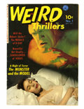 Golden Age (1938-1955):Horror, Weird Thrillers #1 (Ziff-Davis, 1951) Condition: VG....