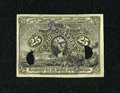 Fractional Currency:Second Issue, Milton 2E25F.3c Second Issue 25¢ Experimental. . ...