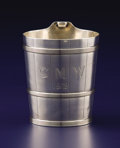 Silver Holloware, American:Cups, AN AMERICAN SILVER CUP. Gorham Manufacturing Co., Providence, Rhode Island, 1870. Marks: (lion-anchor-G), STERLING, 715, C...