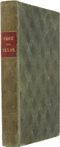 Books, Amos Andrew Parker. Trip to the West and Texas.Comprising a Journey of Eight Thousand Miles, through New-York,Mi...