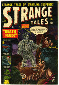 Golden Age (1938-1955):Horror, Strange Tales #17 (Marvel, 1953) Condition: VG....