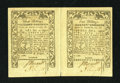 Colonial Notes:Rhode Island, Rhode Island May 1786 3s-5s Double Note About New....