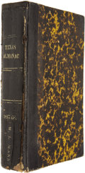 Books, The Texas Almanac for 1867 and 1868, Bound in One Volume....