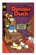 Modern Age (1980-Present):Humor, Donald Duck #228 Signed by Carl Barks (Whitman, 1981) Condition: VF/NM....
