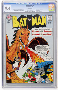 Batman #155 (DC, 1963) CGC NM 9.4 White pages