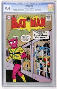 Batman #128 (DC, 1959) CGC NM 9.4 Off-white to white pages