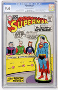 Silver Age (1956-1969):Superhero, Superman #147 (DC, 1961) CGC NM 9.4 Off-white to white pages....