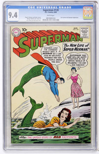 Superman #139 (DC, 1960) CGC NM 9.4 White pages