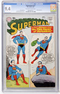 Silver Age (1956-1969):Superhero, Superman #137 (DC, 1960) CGC NM 9.4 Off-white to white pages....