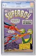 Silver Age (1956-1969):Superhero, Superboy #89 (DC, 1961) CGC NM- 9.2 Off-white pages....