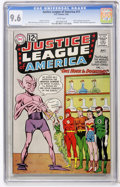 Silver Age (1956-1969):Superhero, Justice League of America #11 (DC, 1962) CGC NM+ 9.6 White pages....